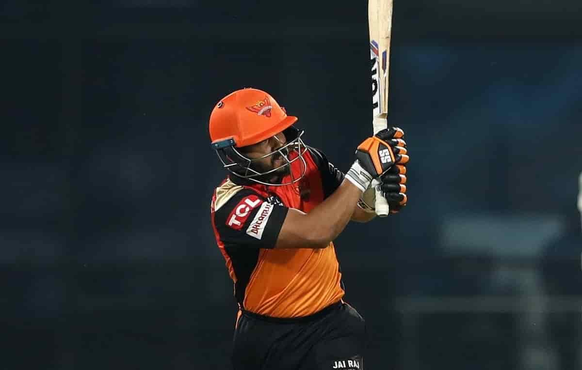 Kedar Jadhav hits first six in IPL after 2 years
