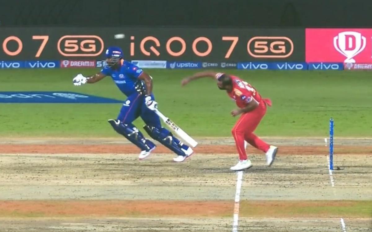 Cricket Image for Dc Vs Mi Kieron Pollard Mankad Incident During Ipl 2021 Watch Video