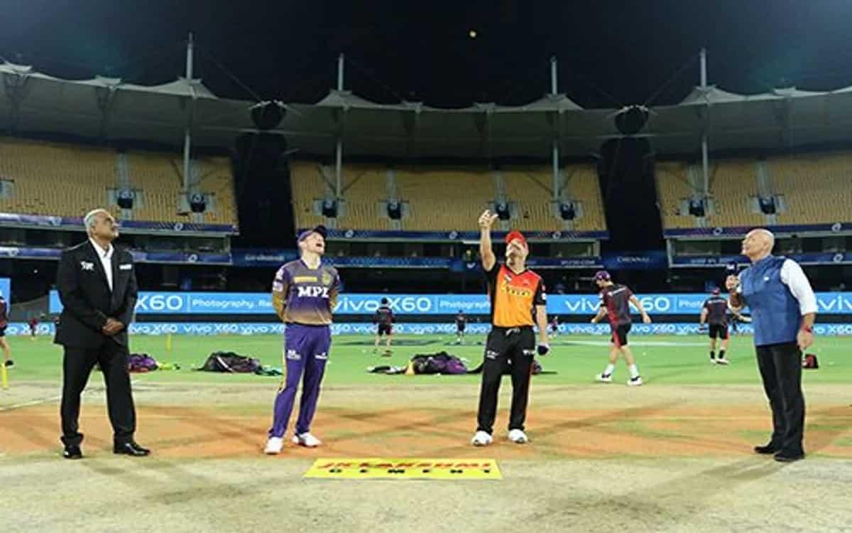 Cricket Image for Sunrisers Hyderabad Won The Toss Against Kolkata The Team Invited Kkr To Bat