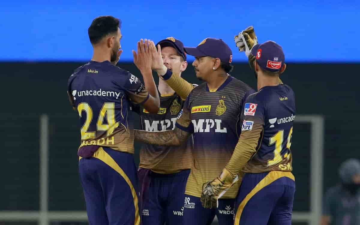 IPL 2021 table 2021 KKR jump to 5th spot after win over Punjab Kings