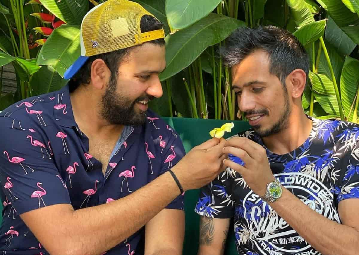 'Love of my life' – Yuzvendra Chahal's birthday wishes for Rohit Sharma are hilarious