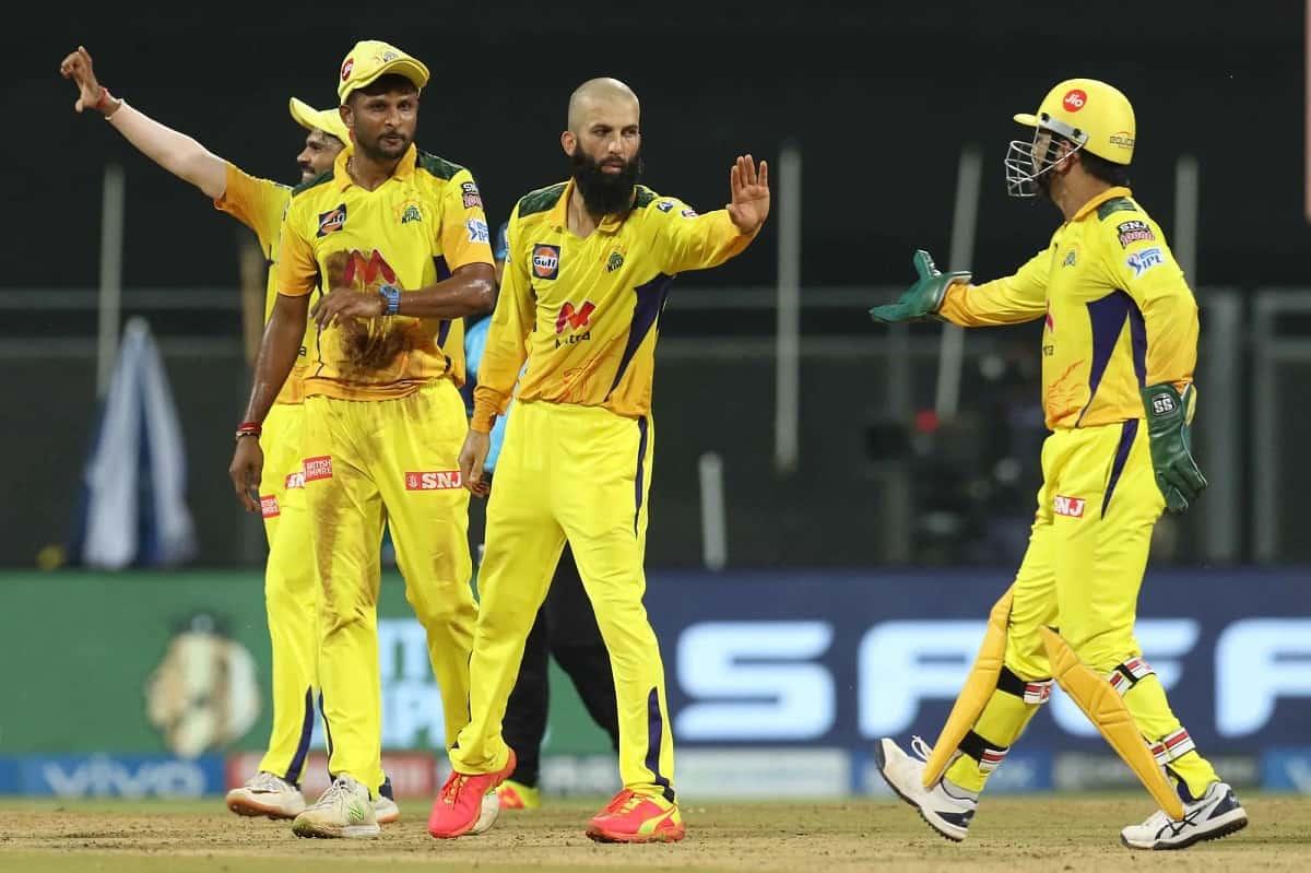 IPL 2021 - CSK vs Rajasthan Match Result