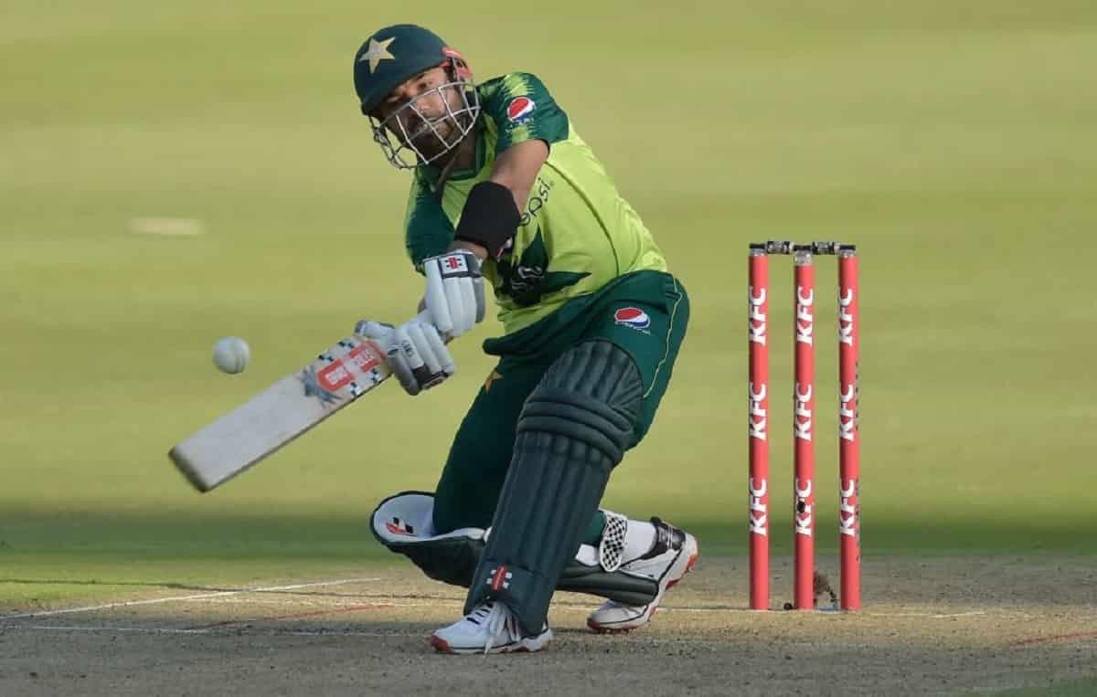 Cricket Image for ZIM vs PAK: मोहम्मद रिजवान ने ठोका धमाकेदार अर्धशतक,पाकिस्तान ने पहले टी-20 में जि