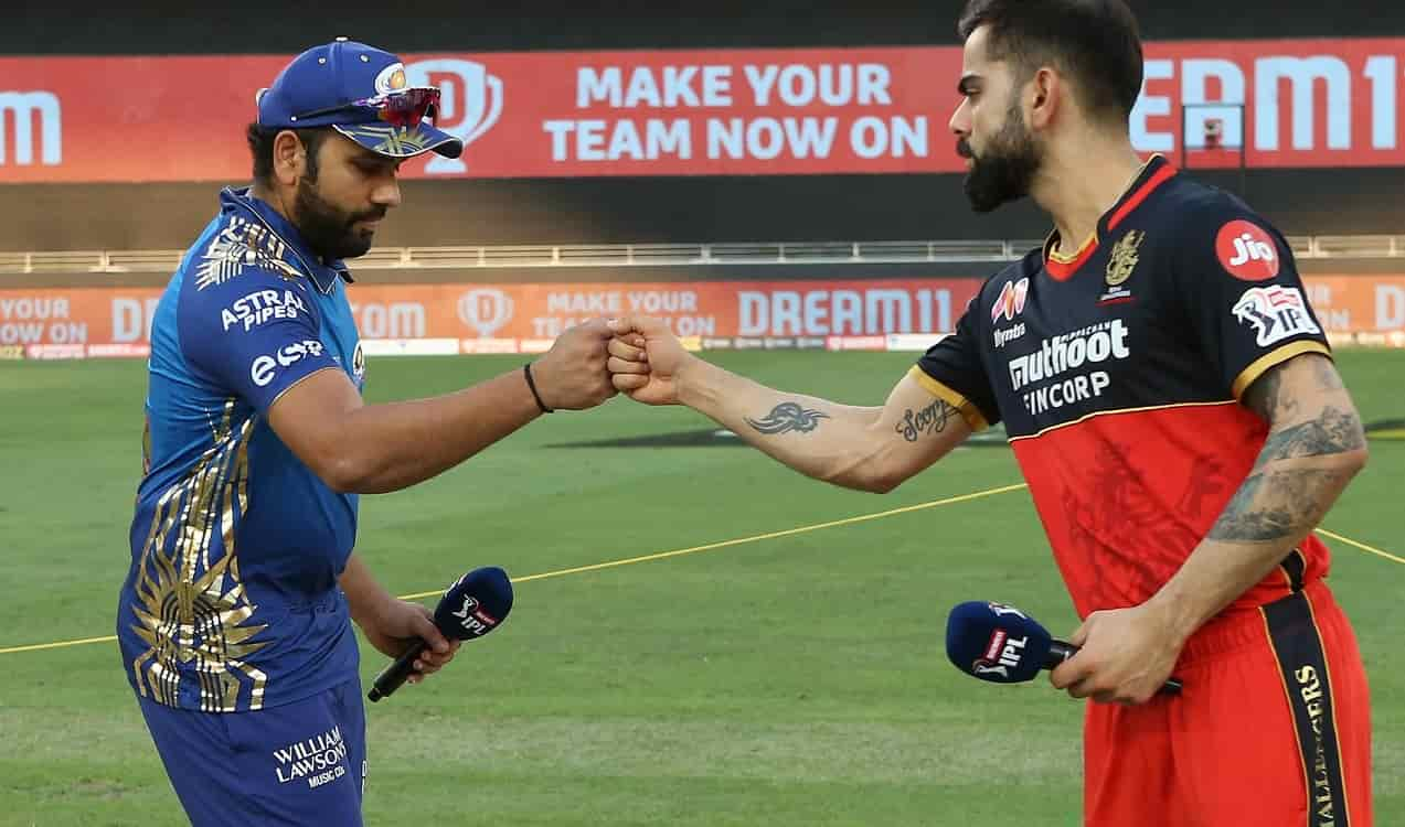 RCB opt to bowl first against Mumbai Indians in IPL 2021 Opener