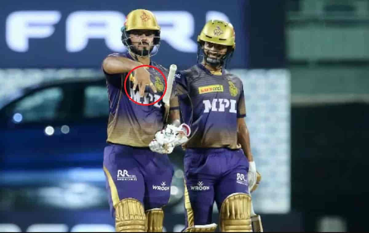 Cricket Image for आईपीएल 2021: नीतीश राणा ने खुद बताई वजह, क्यों अर्धशतक के बाद किया था अनोखा सेलिब्