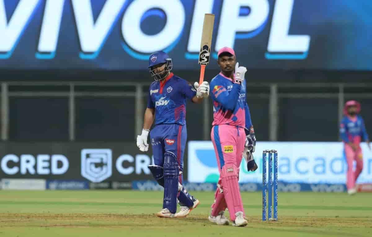 Delhi Capitals set 148 runs target for rajasthan royals