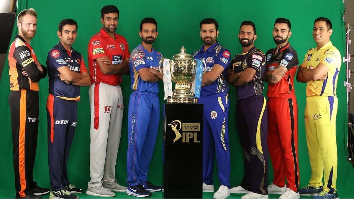 Number of IPL teams in IPL History