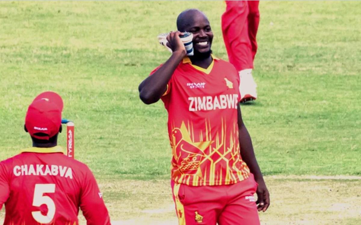 Cricket Image for Pak Vs Zim Zimbabwe Cricketer Luke Jongwe Wants To Play Ipl