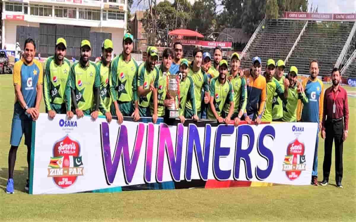 Cricket Image for ZIM vs PAK: Pakistan Beat Zimbabwe By 24 Runs, Win T20I Series 2-1