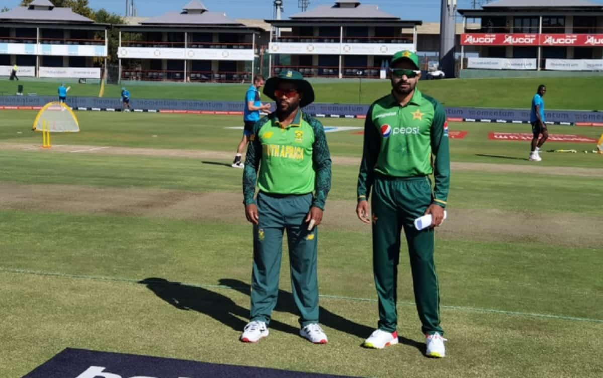 Pakistan won the toss and decided to chase in the first ODI against South Africa