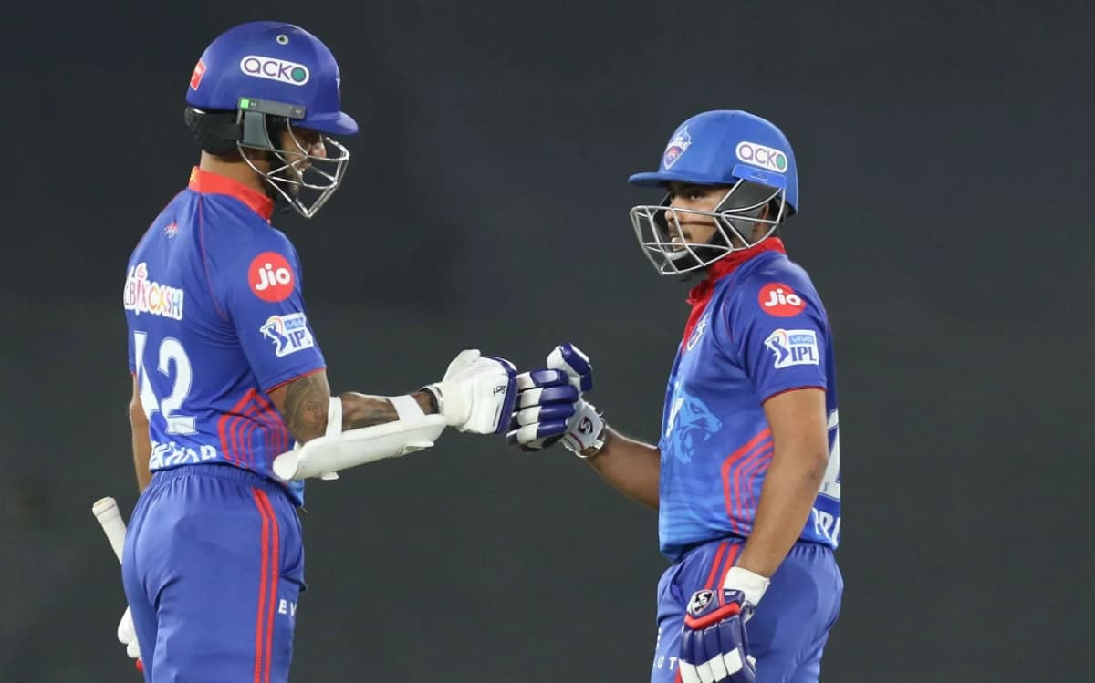 Cricket Image for With Prithvi Shaws Stormy Innings Delhi Capitals Defeat Kolkata Knight Riders By 7