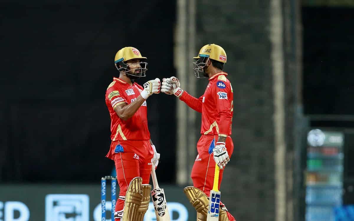 Cricket Image for With Batting Of Kl Rahul And Deepak Hooda The Punjab Kings Gave Huge Target Of 222