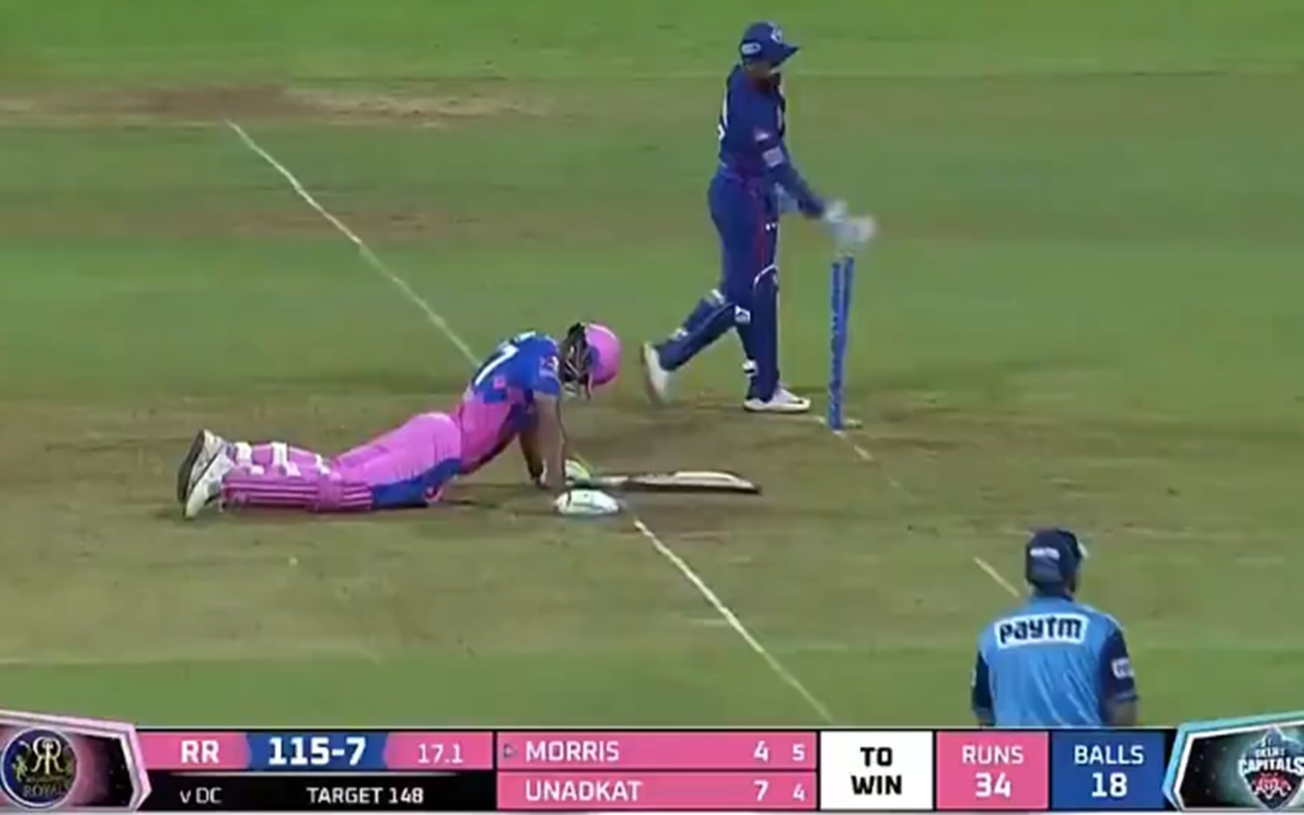 Cricket Image for Rr Vs Dc Rishabh Pant Missed Stumping Chance Watch Video
