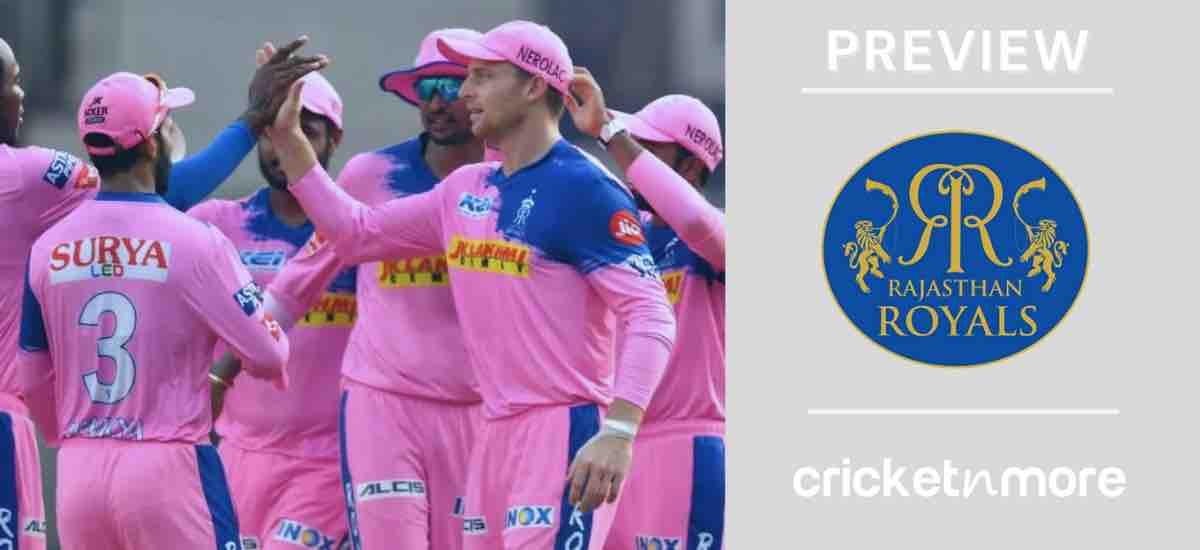 Rajasthan Royals IPL 2021 Schedule