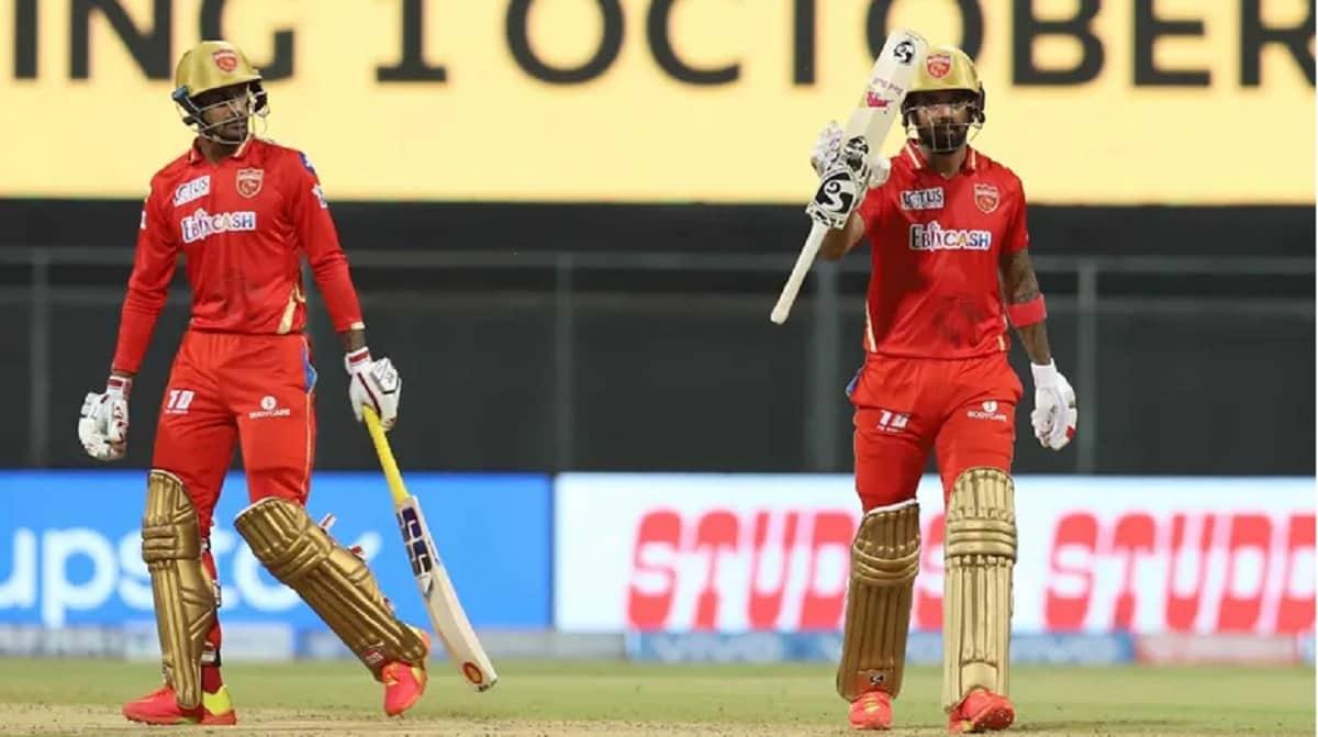 IPL 2021 Punjab Kings set a target of 222 runs against Rajasthan Royals