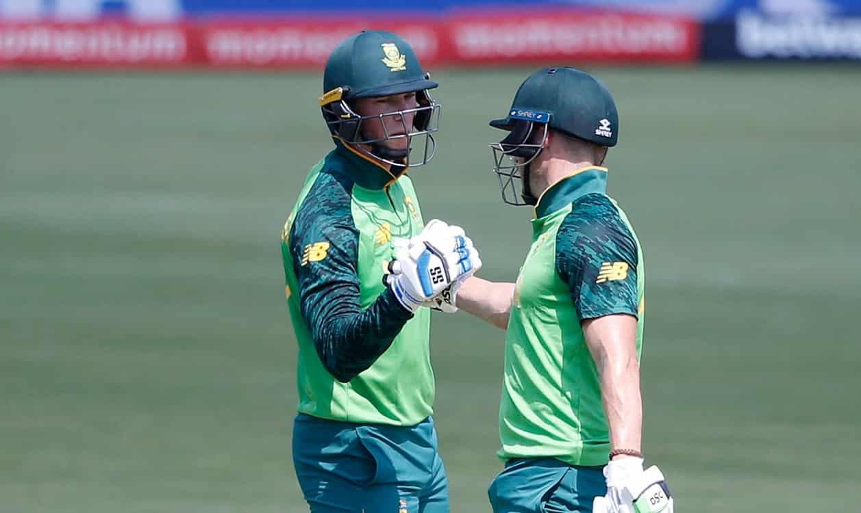 Rassie Van der Dussen's maiden ODI ton lifts South Africa to 273