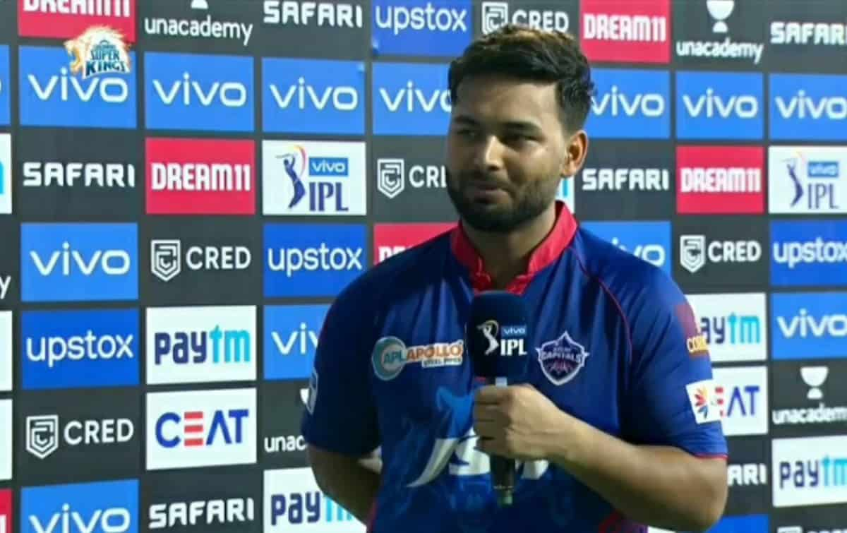 Cricket Image for IPL 2021: ऋषभ पंत शानदार जीत के बाद बोले, मिशी भाई हमें मैच में वापस लेकर आए
