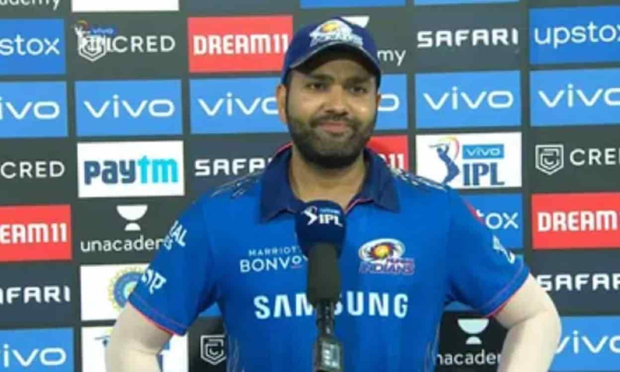 Cricket Image for IPL 2021: रोहित शर्मा शानदार जीत के बाद बोले, हमें कुछ विभाग में काम करने की जरूरत