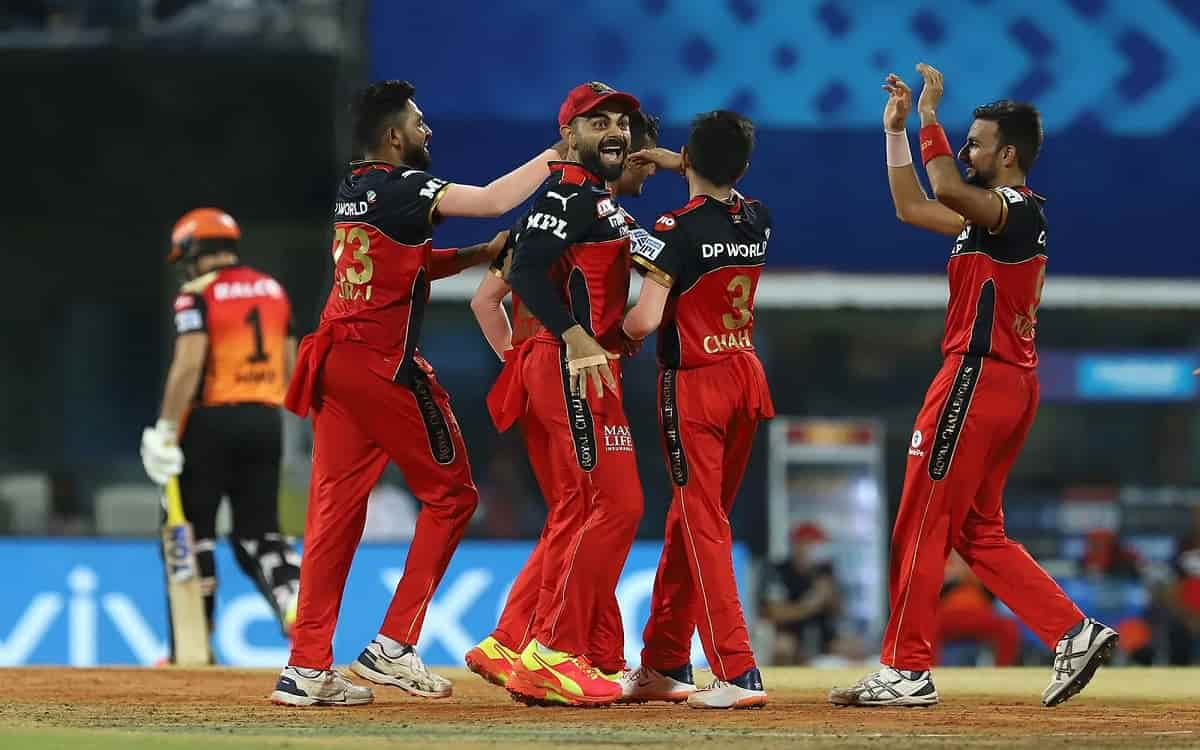 Cricket Image for Bangalore Beat Sunrisers Hyderabad By 6 Runs To Secure Their Second Successive Win