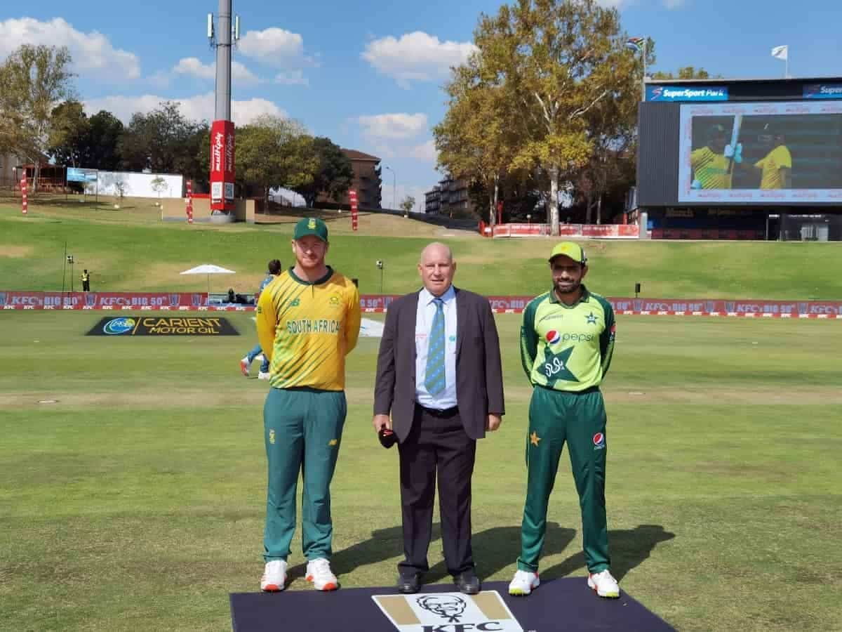 SA vs PAK 4th t20 - Pakistan win the toss and elect to bowl first