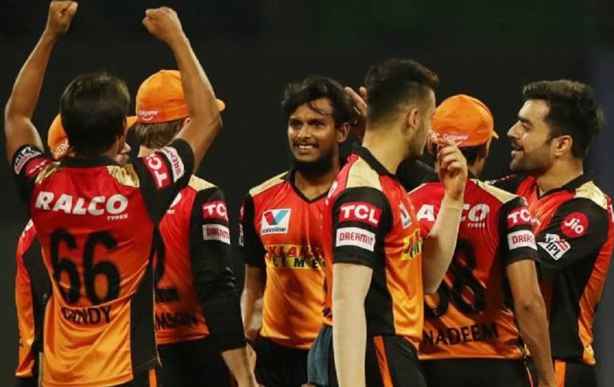 SRH Pacer T Natarajan ruled out of IPL due to injury