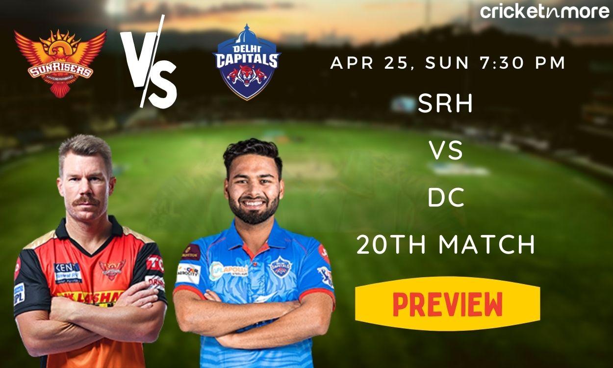 Cricket Image for IPL 2021: दिल्ली के खिलाफ जीत का सिलसिला जारी रखने उतरेगी सनराइजर्स हैदराबाद,जानें