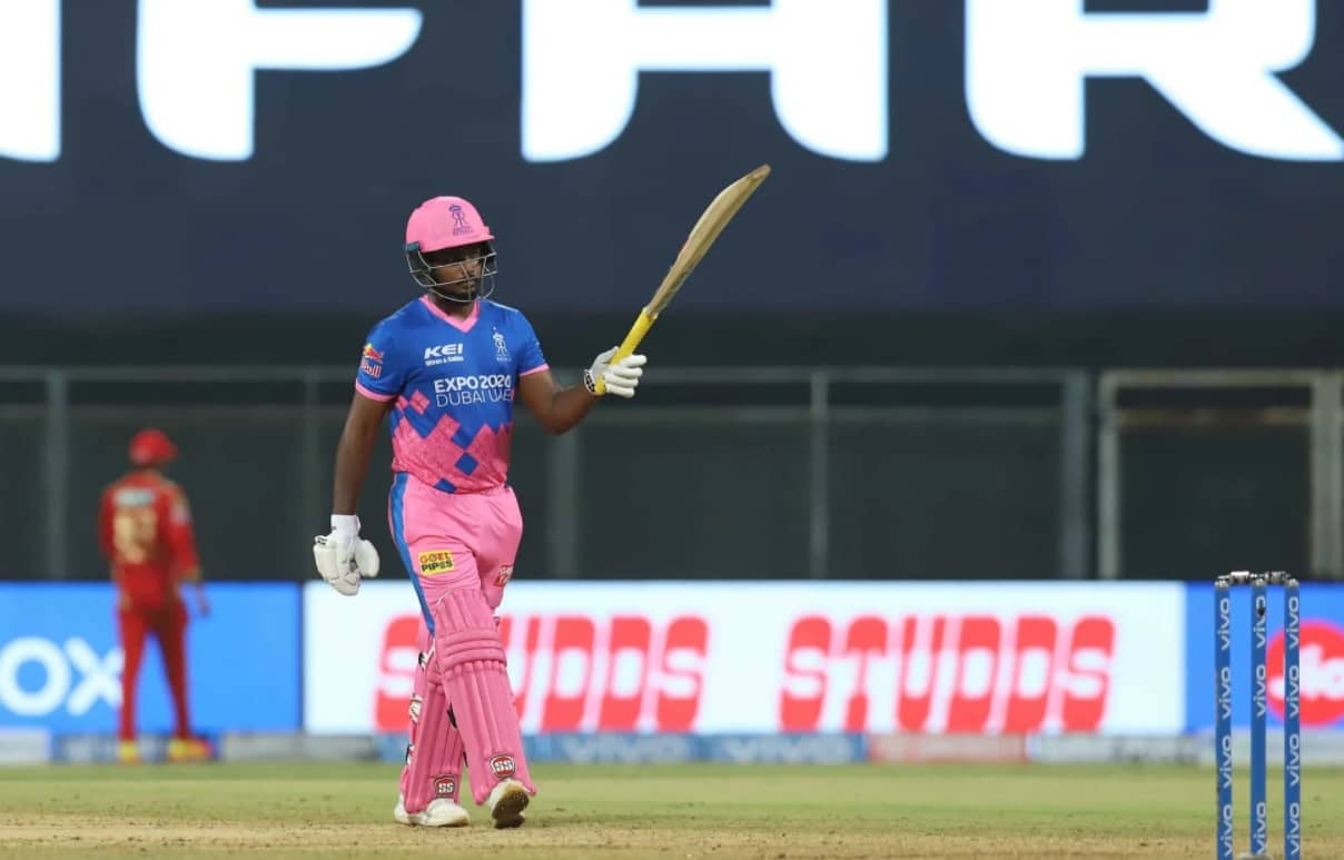Cricket Image for संजू सैमसन ने ठोका तूफानी शतक, आईपीएल में ऐसा कमाल करने वाले पहले कप्तान बने