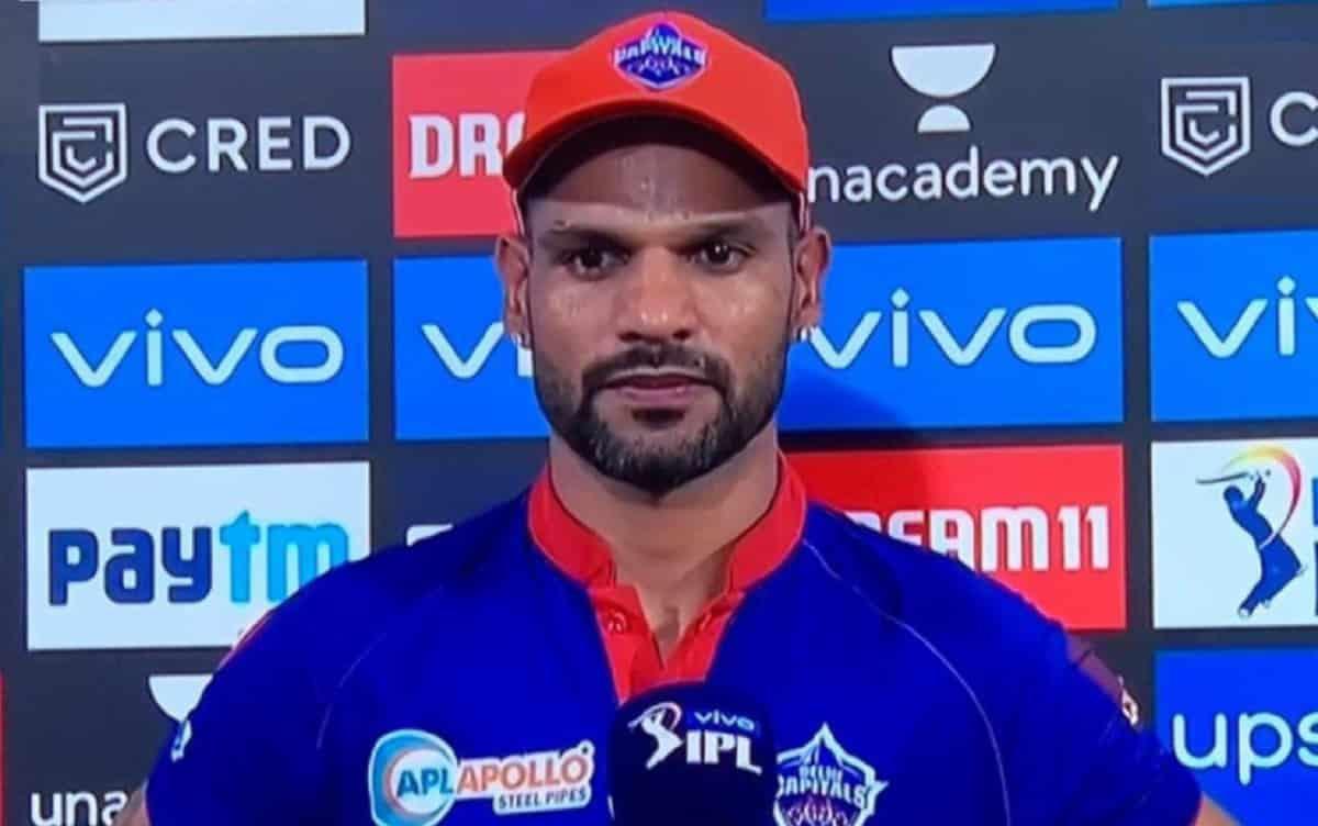 Cricket Image for IPL 2021 Orange Cap: बल्ले से 'गब्बर' का कहर जारी,फिर शिखर धवन के सिर सजी ऑरेंज कै