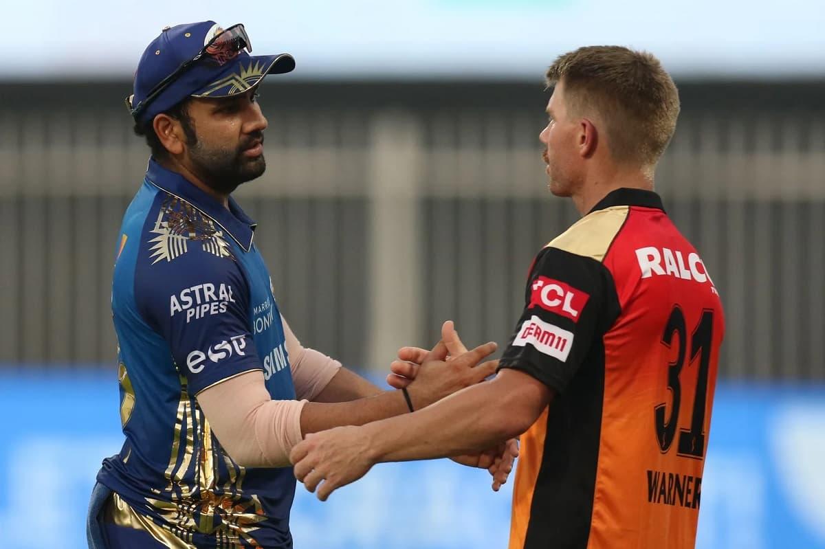 Mumbai Indians vs SRH Toss