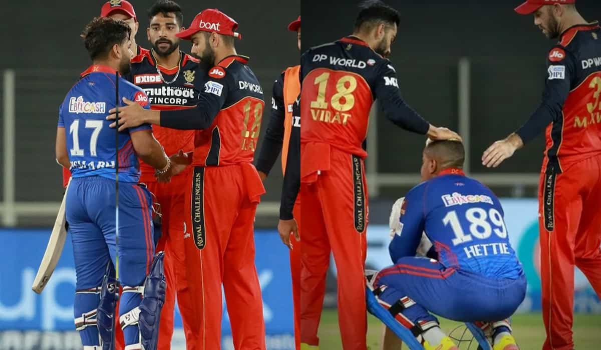VIDEO - Virat Kohli and Mohammed Siraj consoling Rishabh Pant