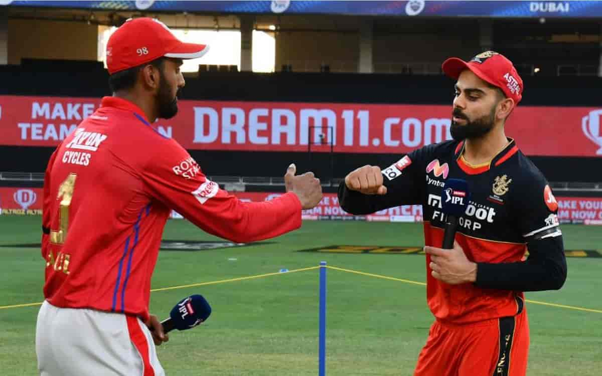 RCB opt to bowl first against Punjab Kings in 26th match of ipl 2021