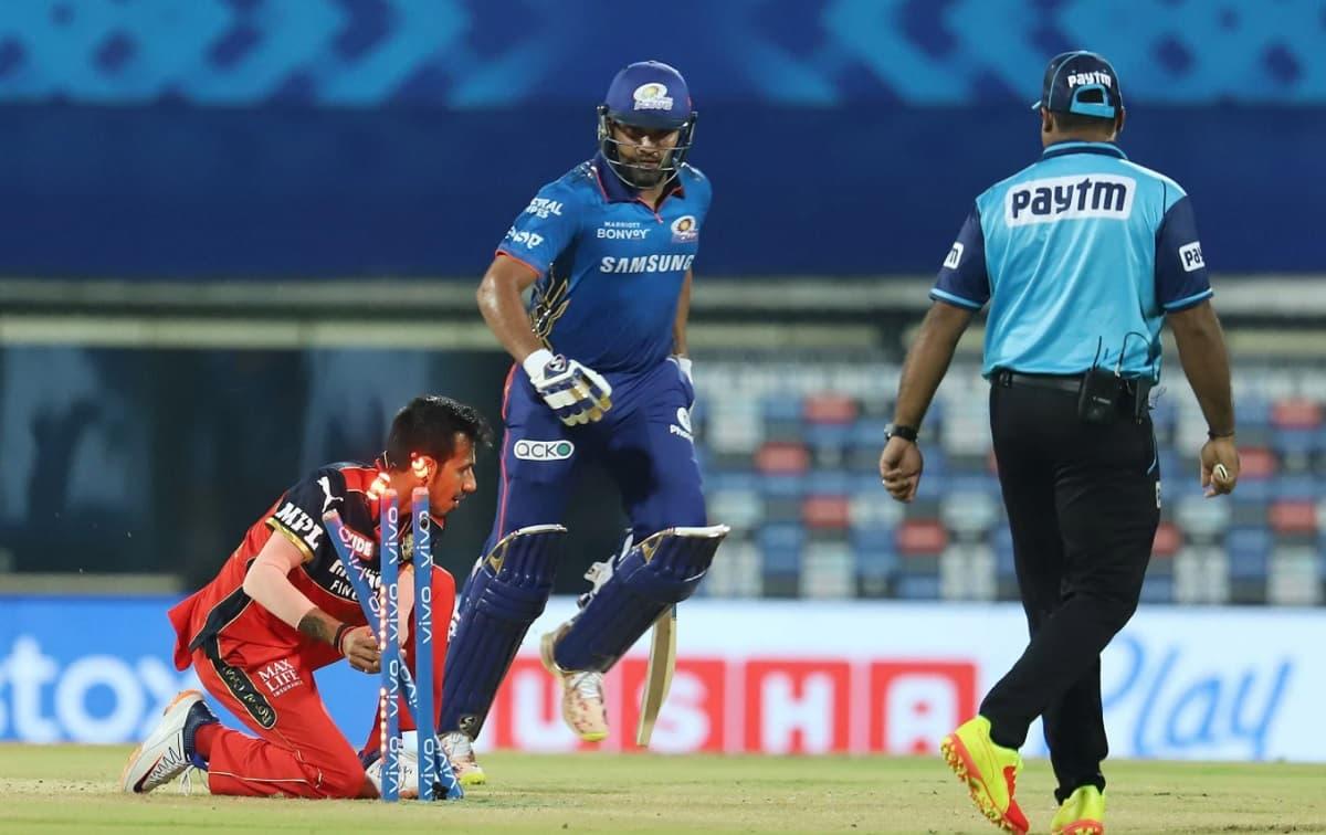 Rohit Sharma Run Out