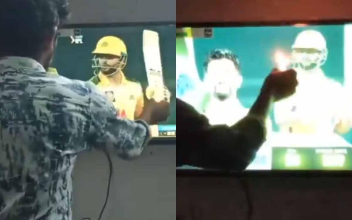 Cricket Image for VIDEO : फैंस के लिए इंसान नहीं 'भगवान' हैं सुरेश रैना, फैन ने आरती उतारते हुए वीडि