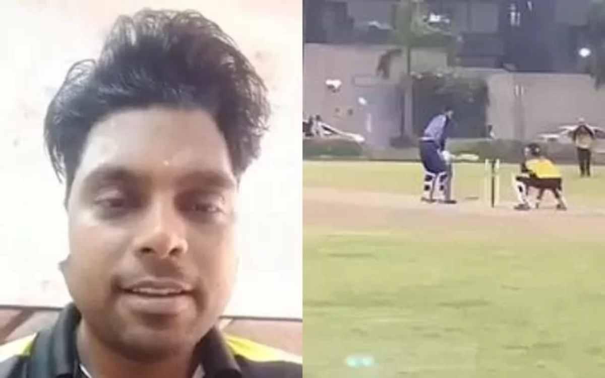 Cricket Image for VIDEO : 'मैं मरा नहीं, अभी जिंदा हूं', सिर पर गेंद लगने के बाद बेहोश हुआ क्रिकेटर;