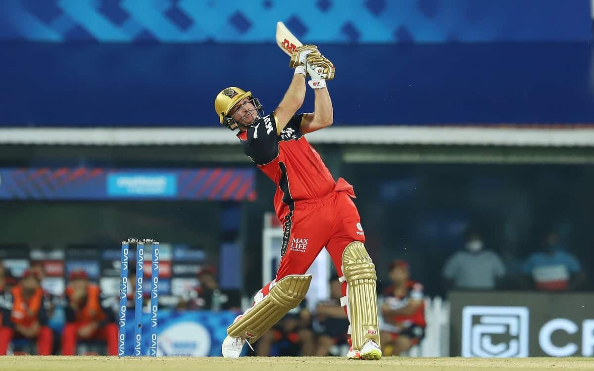 Cricket Image for Started Hitting Cricket Balls Two Months Back, AB's Strategy For IPL