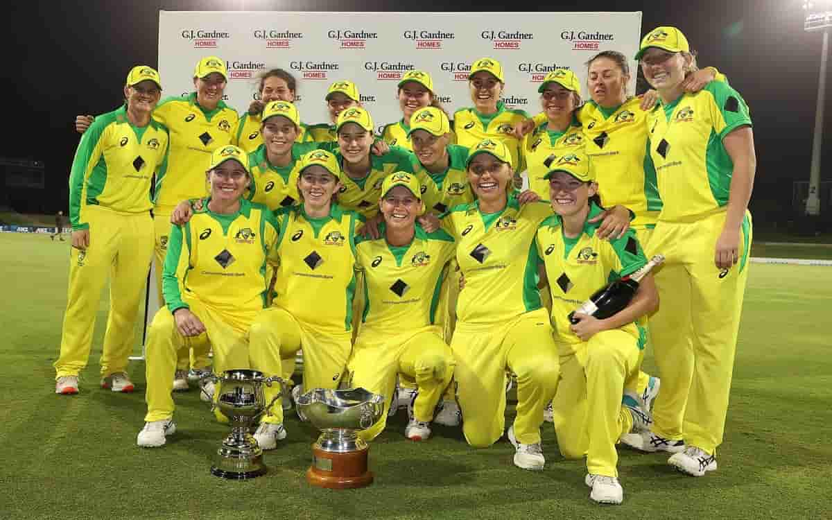 Cricket Image for Australia Womens Team Clean Sweep In Odi Series Against New Zealand Womens Team Af