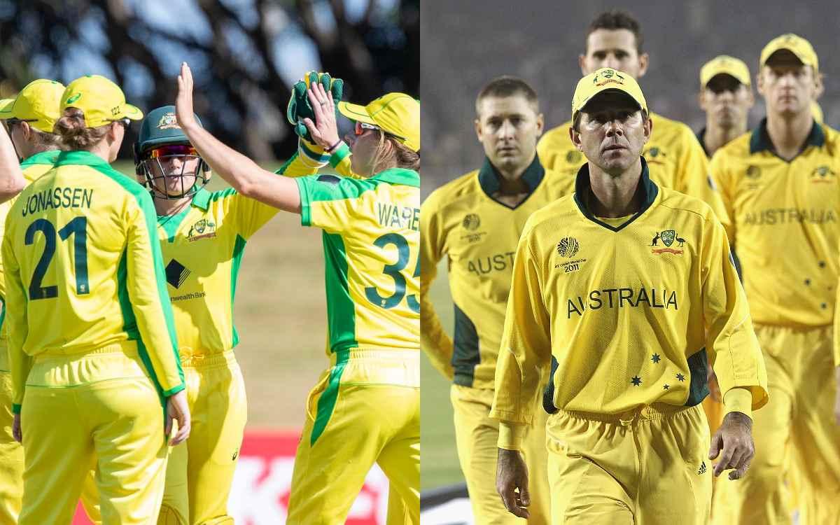 Cricket Image for ऑस्ट्रेलियाई महिला टीम ने तोड़ा 18 साल पुराना वर्ल्ड रिकॉर्ड, रिकी पोंटिंग की विश्