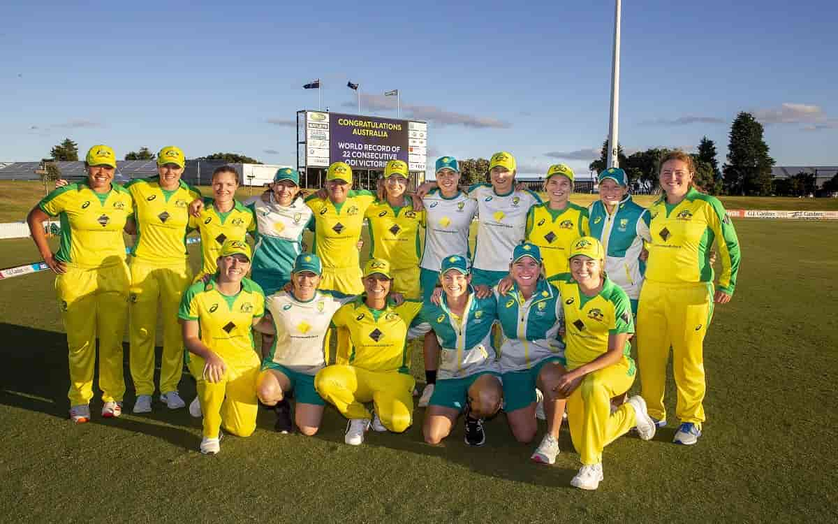 Cricket Image for Australia Womens Team Defeated New Zealand By 6 Wickets And Achieve Their 22nd Con