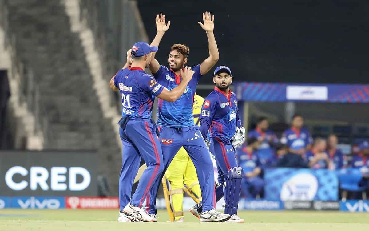 Cricket Image for Avesh Khans Dream Come True After Taking Ms Dhonis Wicket In Ipl