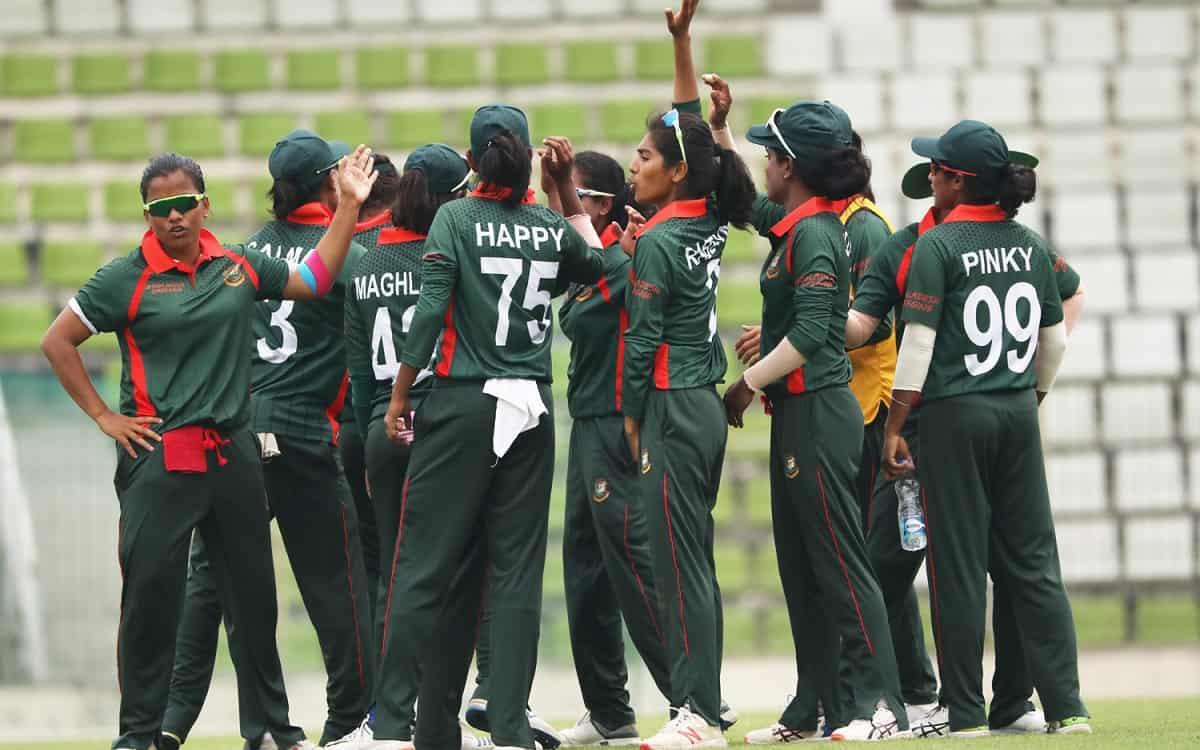 Cricket Image for SA vs BAN: Bangladesh Emerging Women Team Beats South Africa In ODI Series
