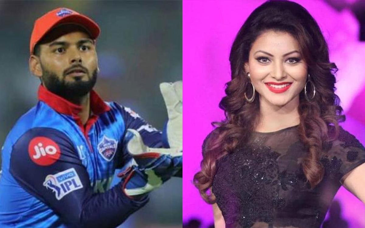 Cricket Image for Bollywood Actress Urvashi Rautela Linkup Rumours With Rishabh Pant