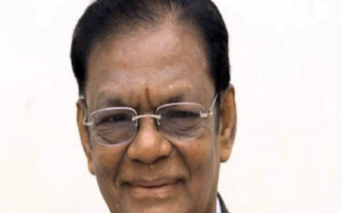 Chennai Super Kings Chairman N. Sabaratnam died at the age of 80