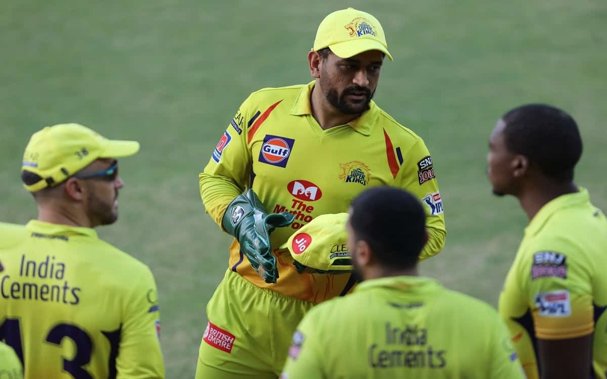 Cricket Image for IPL 2021 : Chennai Super Kings Market Cap Pegged At Rs 2,465 Crore