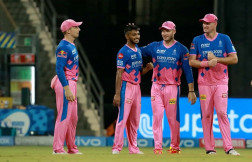 Chennai Super Kings Post 188/9 Against Rajasthan Royals
