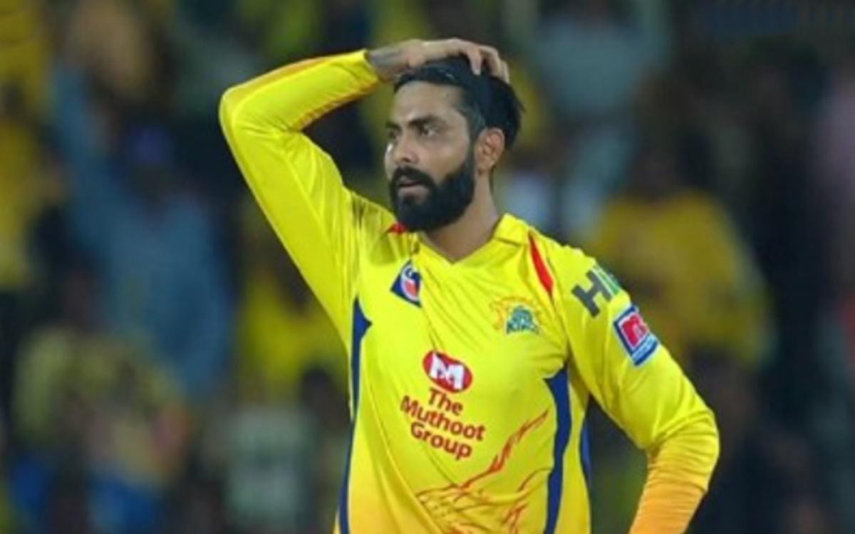 Cricket Image for Csk Allrounder Ravindra Jadeja Sad After His Horse Died