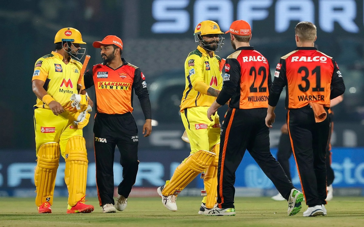 Cricket Image for Chennai Super Kings Achieve Fifth Consecutive Win By Defeating Hyderabad By 7 Wick