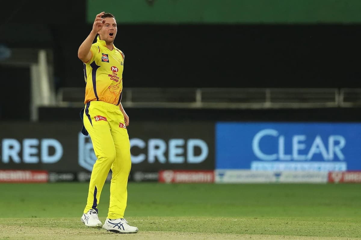 Cricket Image for CSK's Josh Hazlewood Pulls Out Ahead Of IPL 2021 Citing Bubble Fatigue