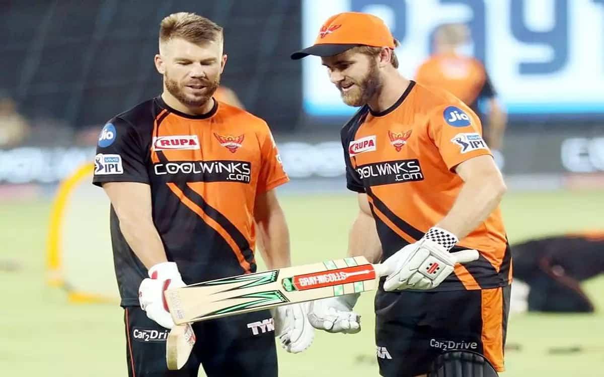 Cricket Image for IPL 2021: सनराइजर्स हैदराबाद से जुड़ने के लिए वार्नर और विलियम्सन चेन्नई पहुंचे, द