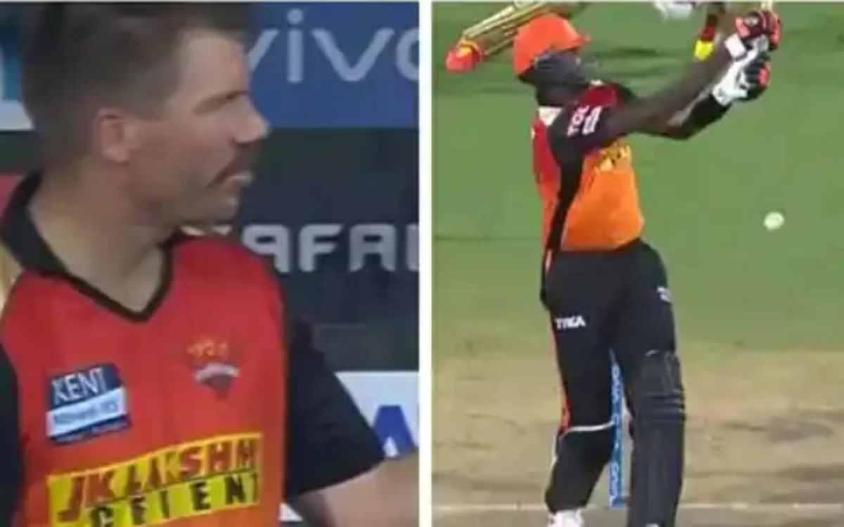 Cricket Image for अंपायर्स पर फूटा डेविड वॉर्नर का गुस्सा, दो बीमर फेंकने के बाद भी बॉलिंग करते रहे