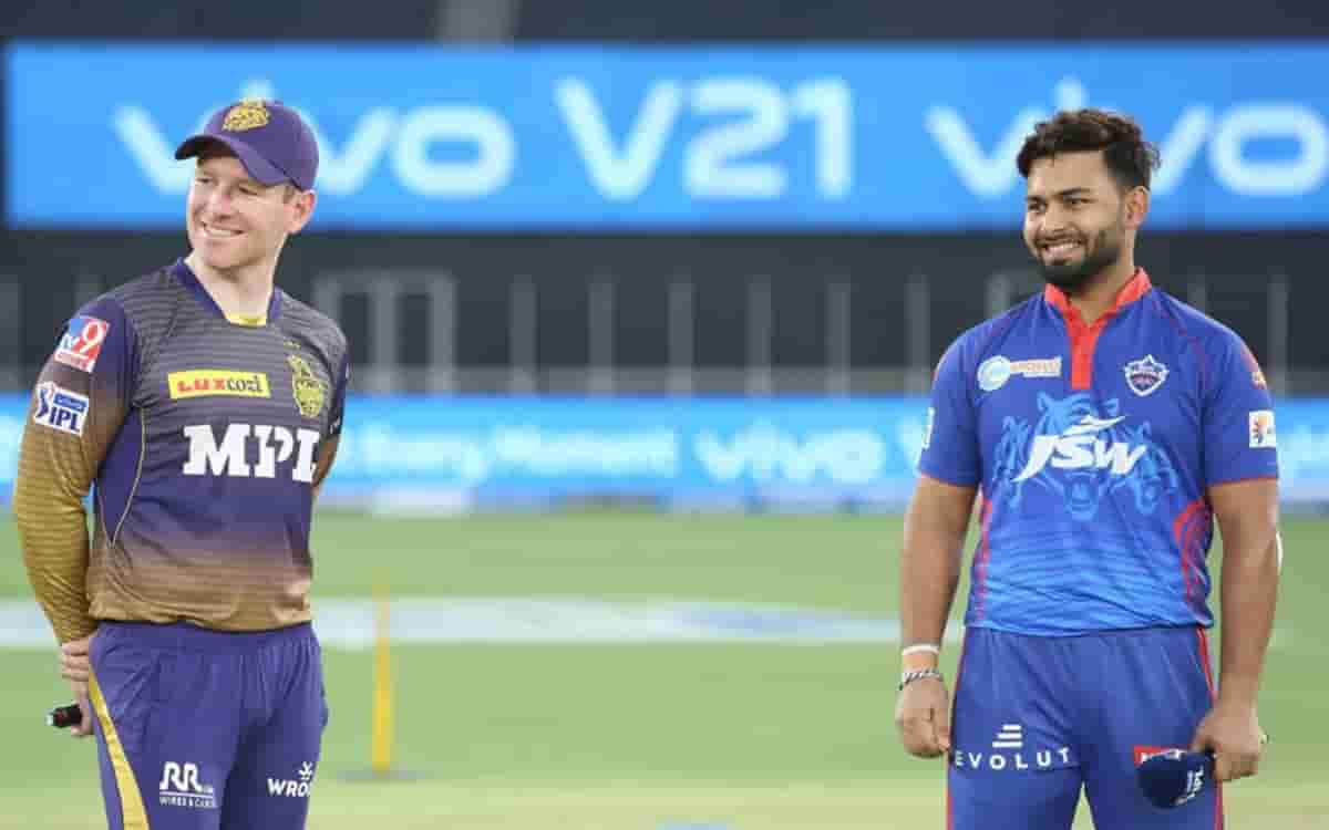 Delhi Capitals opt to bowl first against KKR